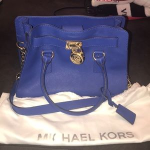 Royal Blue Michael Kors purse